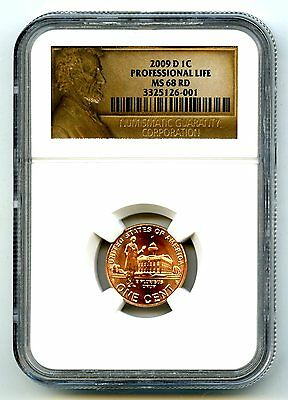 2009 D Us Mint Cent Professional Life Ngc Ms68 Rd Only 2 Known Top Population