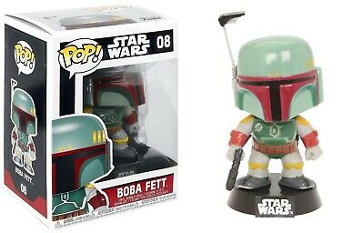 Funko Pop Star Wars: Boba Fett Vinyl Bobble-Head Item No. 2386
