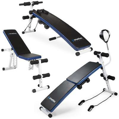 Hantelbank All-in-1 Bank Sit-up Bank Muskelaufbau Trainingsbank Fitness Trainer