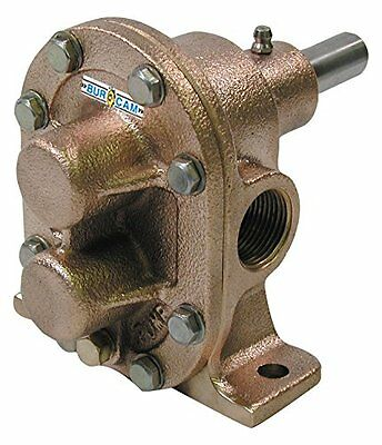"Burcam Brass Gear Pump 3/4"" Suction and Discharge 700721"