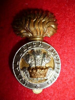 The Royal Welch Fusiliers Cap Badge, WW2 (Normandy, Germany / Burma, Greece)