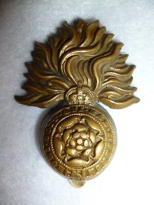 The Royal Fusiliers (City of London Regiment) WW1 / WW2 Cap Badge