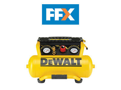 DeWalt DPC10RC-LX 110V 10L 2.0Hp Twin Outlet Roll Cage Compressor