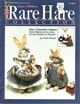 Paper Ribbon Rare Hare Collection Pattern Booklet