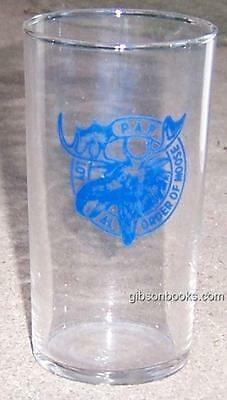 Vintage Libbey Loyal Order of the Moose Drinking Glass