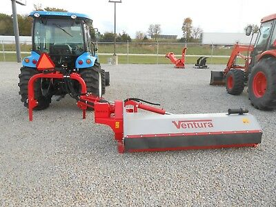 "Flail Ditch Bank Mower, Shredder, Mulcher, Ventura Side Trim 181E: 71"", 50-80HP!"