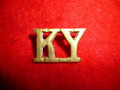 (East) Kent Yeomanry Shoulder Title Badge, Westkake 264, British