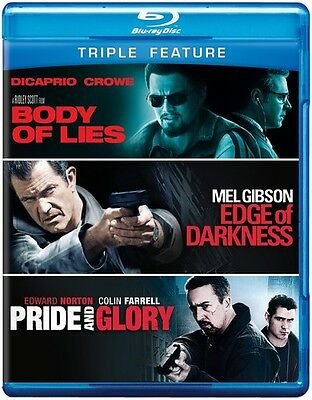 Body of Lies/Edge of Darkness/Pride and Glory [3 (2012, Blu-ray NEUF) (RÉGION A)