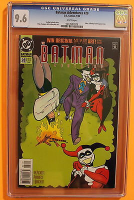 BATMAN Adventures #28 4th app HARLEY QUINN 1995 JOKER-c/s Suicide Squad CGC 9.6