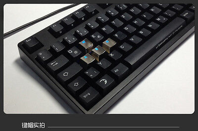 TA Mechanical Keyboard Zinc Transparent a set of WASD Keycap Pearl For Cherry MX
