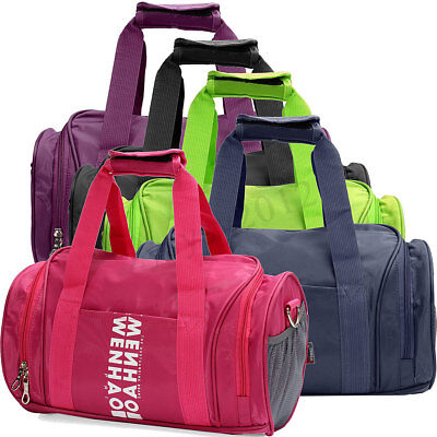 New WORK DUFFLE TRAVEL SCHOOL LEISURE HANDBAG Ladies Sports & Gym Holdall Bag UK