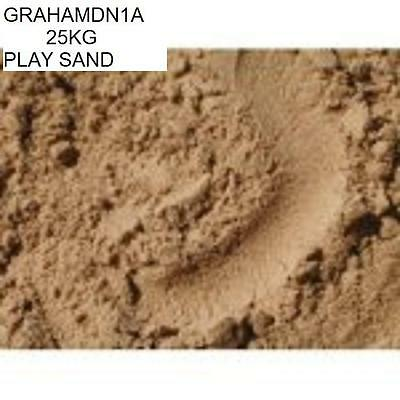 25kg Children's Play Sand  Clean Safe Non-toxic Non-staining BS71 P1,2 & 3 FPOST
