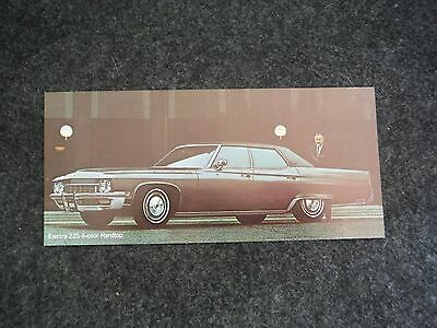 1972 General Motors Buick Electra 225 4-Door Hardtop Advertising Sales Flyer