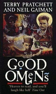 Good Omens by Terry Pratchett Paperback Book The Cheap Fast Free Post