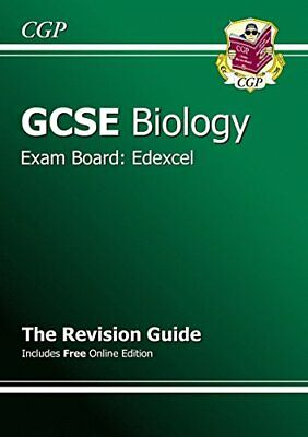 GCSE Biology Edexcel Revision Guide (with online editi... by CGP Books Paperback