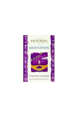 Principles of - Meditation: The only introduc... by Feldman, Christina Paperback