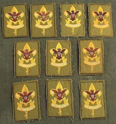 Lot of 10 Boy Scouts of America First Class 1st Class Rank Patches 1965 - 1971