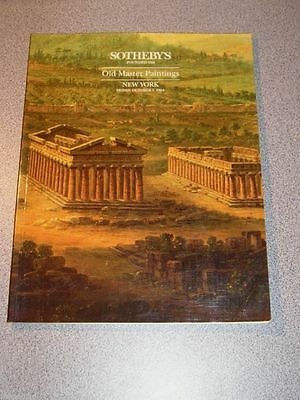 SOTHEBY'S Auction Catalog Old Master Paintings 1994