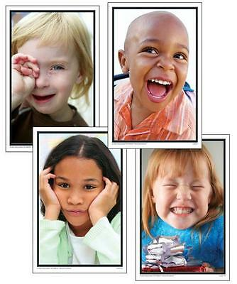 Carson Dellosa PHOTOGRAPHIC LEARNING CARDS More Emotions  PreK-Gr.1 NEW KE-84503