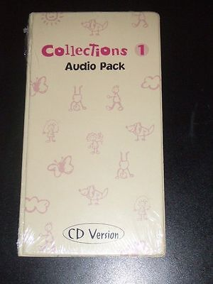 COLLECTIONS 1 Complete Audio Pack CDs Language Arts / English Pearson Canada NEW