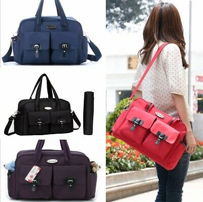 Top Quality New Fashion Baby Diaper Nappy Changing Bag Tote Messenger Bag--10199