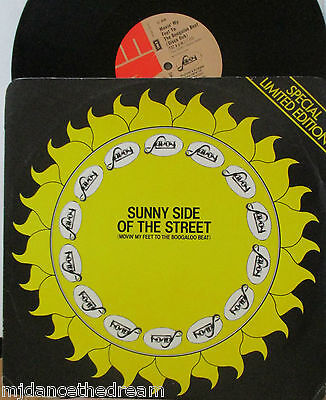 "SAVOY ~ Sunny Side Of The Street ~ LTD ED 12"" Single PS"