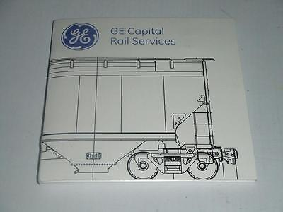GE Capital Rail Services Promotional Glass Coaster Limited Edition NEW