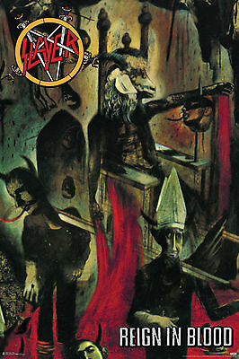 Slayer Reign In Blood Album Cover Poster New  !