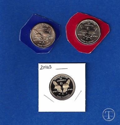 2016 P D and S BU AND Proof Sacagawea Native American Dollars-PD from Mint Set