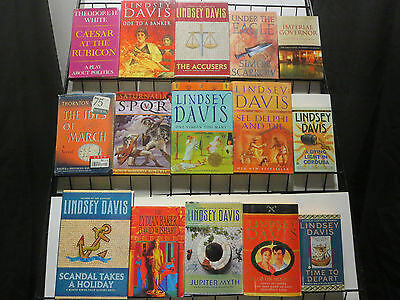 Murders in Ancient Roman Mystery Mini-Library 32Diff Novels Lindsey Davis+++