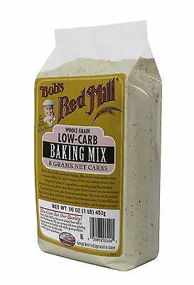 Bob's Red Mill Low-Carb Baking Mix 16 oz, 4 Pack Heathy Food Cooking Cookies