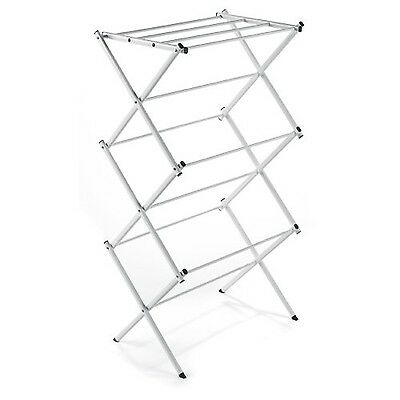 Foldable Heavy Duty Compact Storage Drying Rack Portable Folding Laundry Clothes
