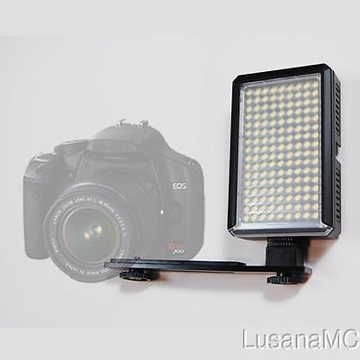 Lusana Studio 144 LED Photography Video Light Camera Camcorder Lighting LE144