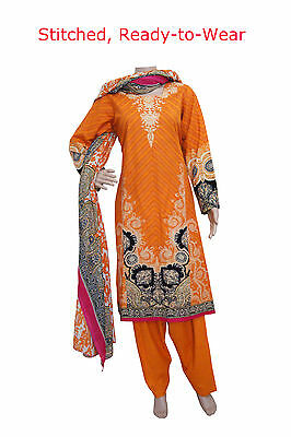 KD10 Ready Made - Khadar Salwar (Trousers) Kameez Pakistani Indian Asian Kurta