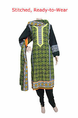 KD12 Ready Made - Khadar Salwar (Trousers) Kameez Pakistani Indian Asian Kurta