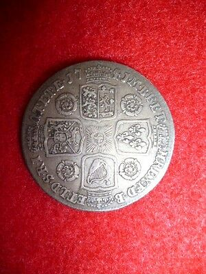 George II Shilling Coin 1741 - UK / GB