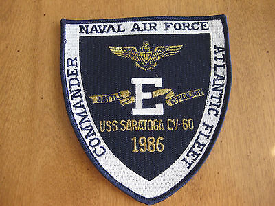 U.s.s.saratoga Cv 60 Navy Air Force Sew On Patch Badge
