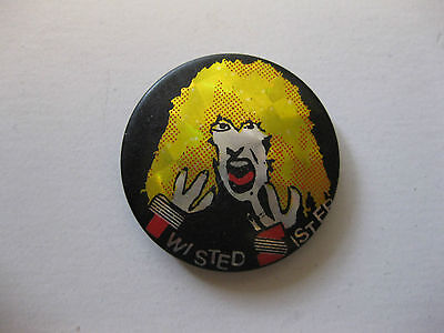 Twisted Sister Vintage Button