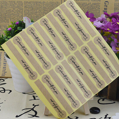 "Lots 90Pc Kraft Paper ""Especially For You"" Seal Sticker Label Gift Box Decal DIY"
