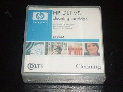 HP C7998A DLT VS Cleaning Cartridge for HP DLT1 and HP DLT VS80 tape drive NEW