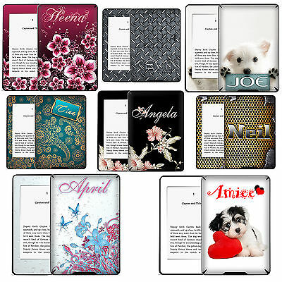 TaylorHe Personalized Kindle Paperwhite Decal Vinyl Skin Sticker With YOUR NAME