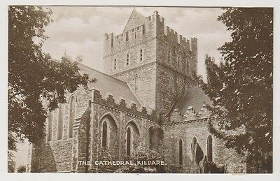 Ireland postcard/Correspondence Note - The Cathedral, Kildare