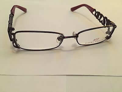 Girls Laura Ashley Glasses In A Sweetheart Grape Design NEW RRP £79