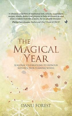 The Magical Year by Danu Forest (English) Paperback Book Free Shipping!