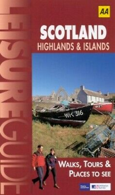 Scotland, Highlands and Islands (Ordnance Survey/A... by AA Publishing Paperback