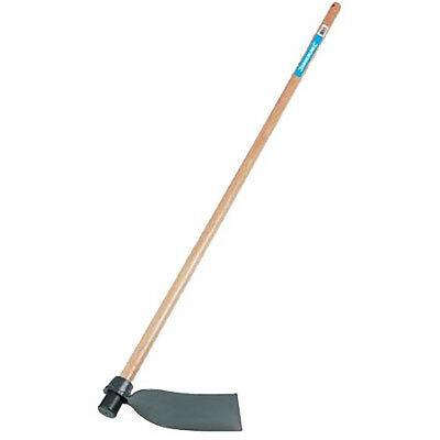 New Silverline GT52 Garden Digging Hoe 120cm Wooden Handle - Incl Guarantee