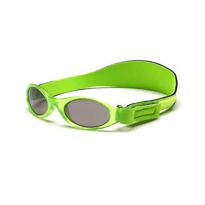 Baby Banz Adventurer Sunglasses 100% UVA/UVB Protection (Ages 0-2yrs) Lime Green