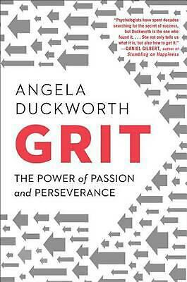 Grit: The Power of Passion and Perseverance by Angela Duckworth (English) Hardco