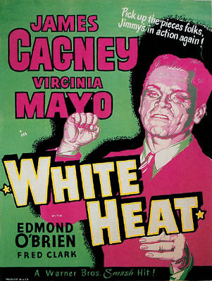 James Cagney White Heat Film Movie Star Celebrity Poster Print A3 SIZE