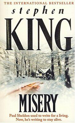 Misery by King, Stephen Book The Cheap Fast Free Post